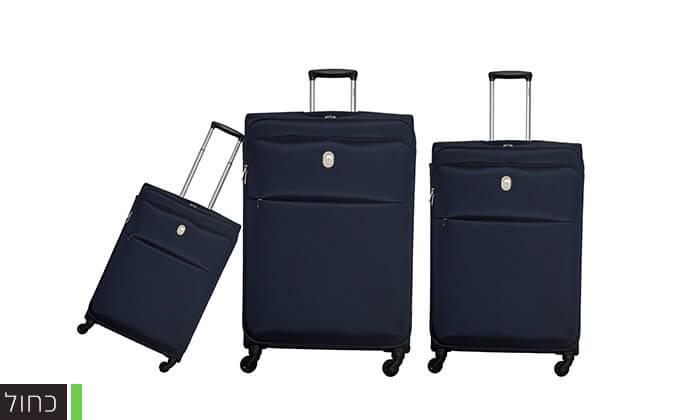 5 סט 3 מזוודות דלסי DELSEY