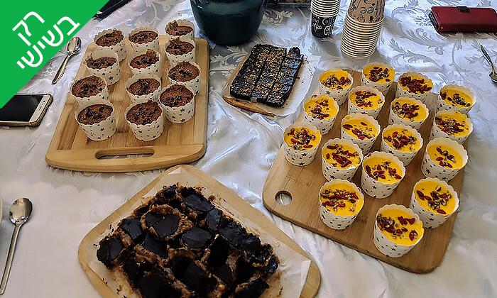 4 סדנת קינוחים בריאים עם פלורנסיה אונטוריני קשטן, הירקון תל אביב