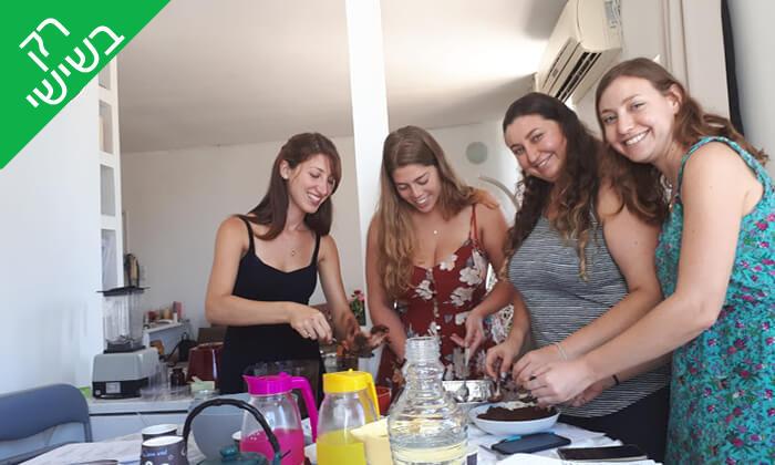 7 סדנת קינוחים בריאים עם פלורנסיה אונטוריני קשטן, הירקון תל אביב