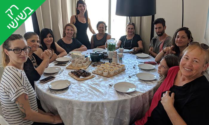 8 סדנת קינוחים בריאים עם פלורנסיה אונטוריני קשטן, הירקון תל אביב