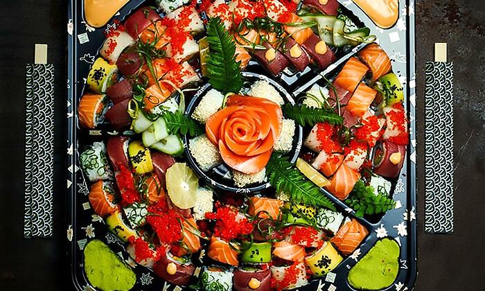 4 ארוחה זוגית במסעדת נגיסה הכשרה, כיכר המדינה תל אביב