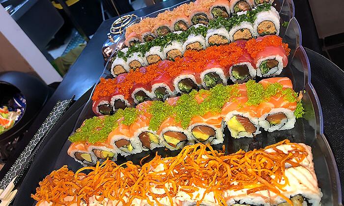 6 ארוחה זוגית במסעדת נגיסה הכשרה, כיכר המדינה תל אביב