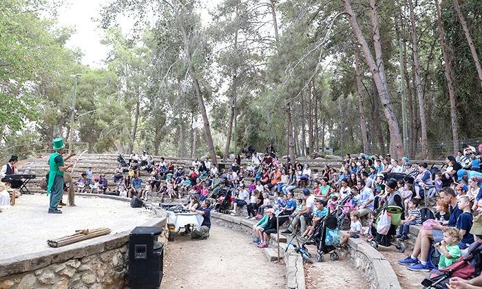 20 פארק נאות קדומים - כניסה והשתתפות בפעילויות לסוכות
