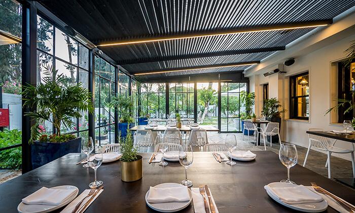 6 GROO PREMIUM: ארוחת שף זוגית ב-Aberto, גדרה