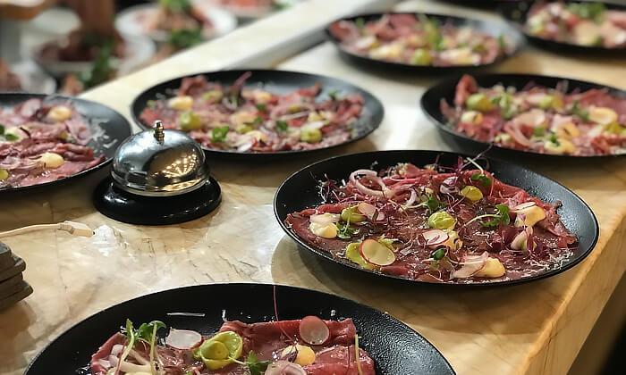 9 GROO PREMIUM: ארוחת שף זוגית ב-Aberto, גדרה