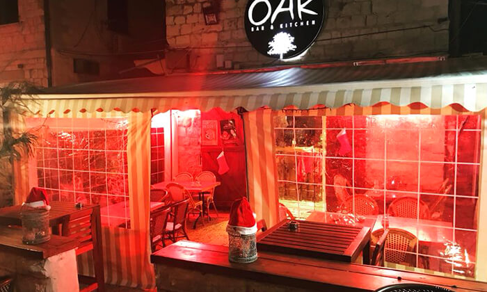 12 ארוחה זוגית ב-OAK BAR, המושבה הגרמנית חיפה