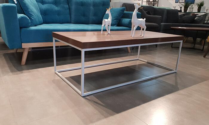 5 שולחן סלון מלבני