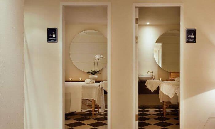 9 חבילת ספא בדואו ספא החדש, מלון הרודס תל אביב