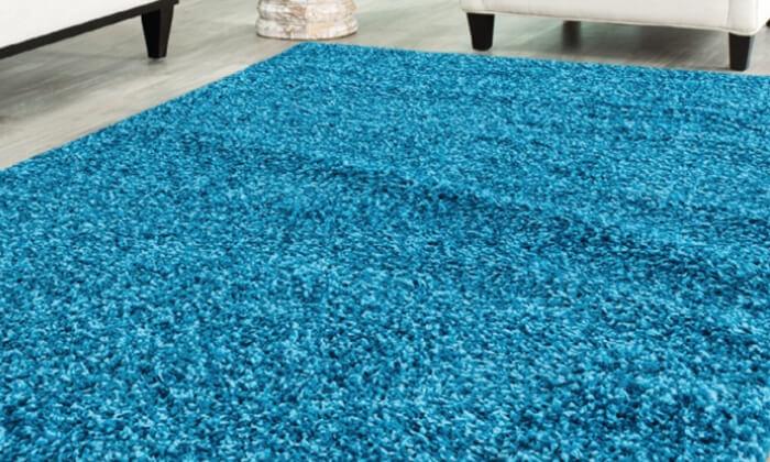 14 שטיח לסלון שאגי