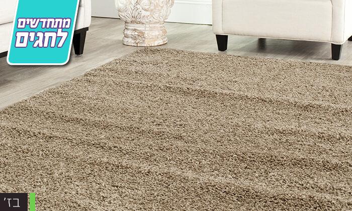 7 שטיח לסלון שאגי