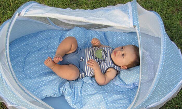 9 עריסת תינוק ניידת