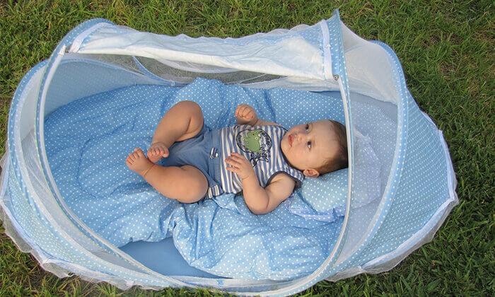 2 עריסת תינוק ניידת