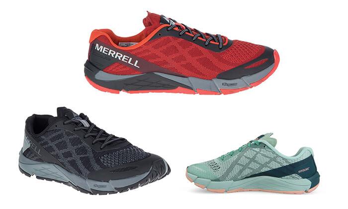 2 נעלי ריצת שטח מקצועיות לגברים MERRELL