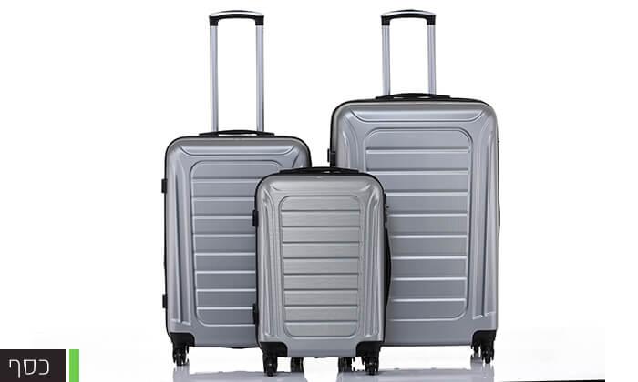 6 סט 3 מזוודות SWISS GENEVE
