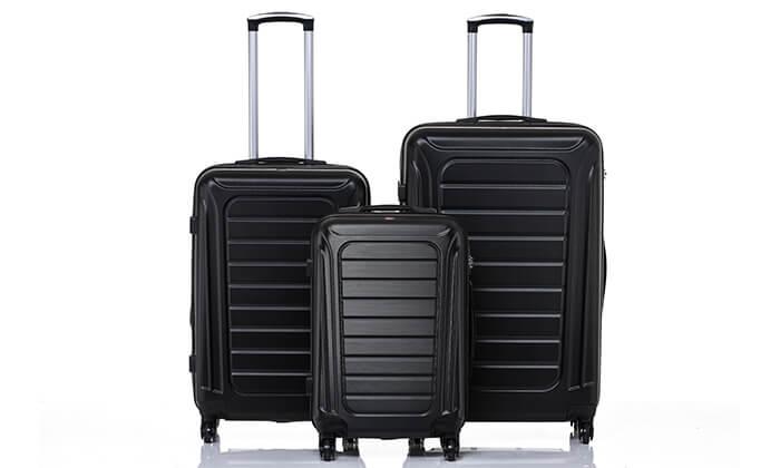 7 סט 3 מזוודות SWISS GENEVE