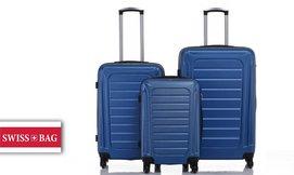 סט 3 מזוודות SWISS GENEVE