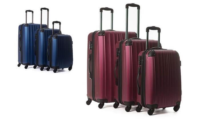 2  סט 3 מזוודות קשיחות CalPak
