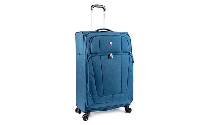 5 מזוודה Swiss Lite Premium ב-3 גדלים