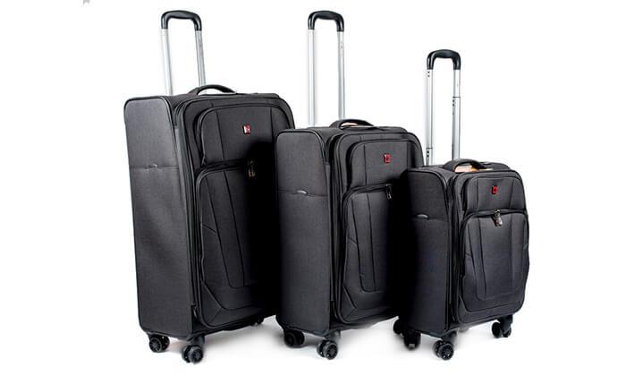 7 מזוודה Swiss Lite Premium ב-3 גדלים