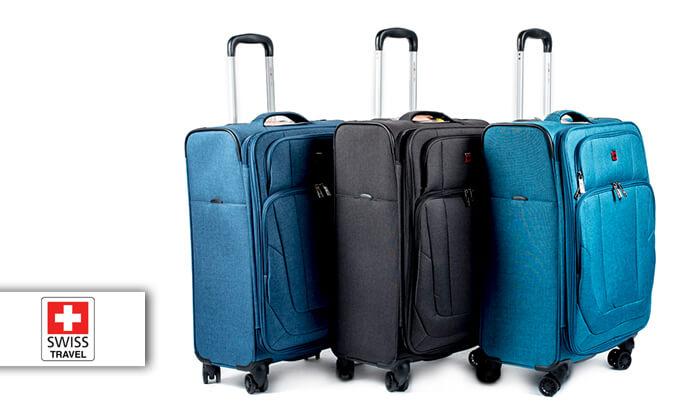2 מזוודה Swiss Lite Premium ב-3 גדלים