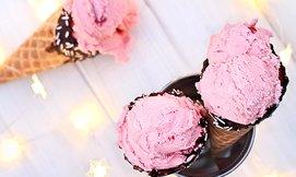 2 כדורי גלידה choco-lulu