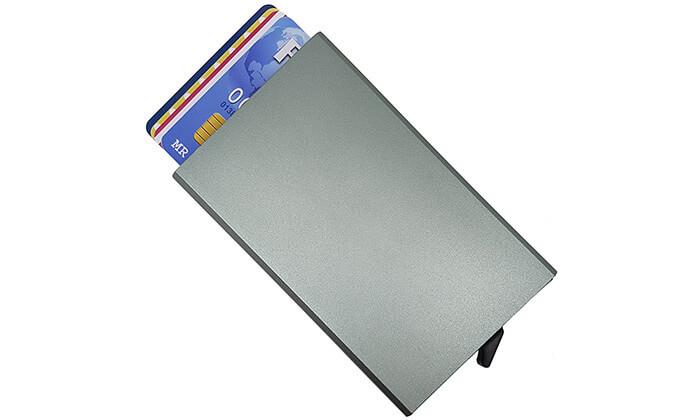 2  ארנק אלומיניום לכרטיסי אשראי