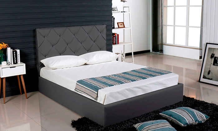 5 מיטה זוגית עם ארגז מצעים Vitorio Divani