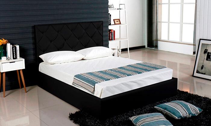 6 מיטה זוגית עם ארגז מצעים Vitorio Divani