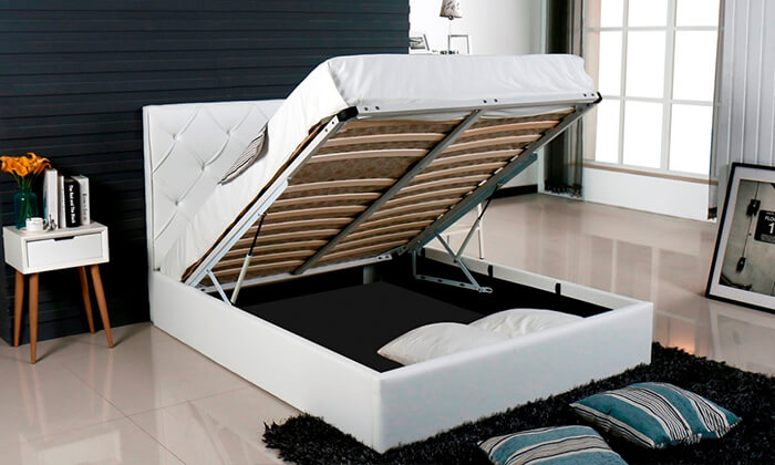 8 מיטה זוגית עם ארגז מצעים Vitorio Divani