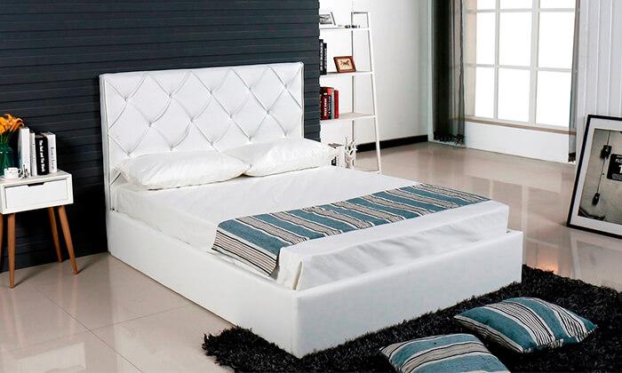 7 מיטה זוגית עם ארגז מצעים Vitorio Divani