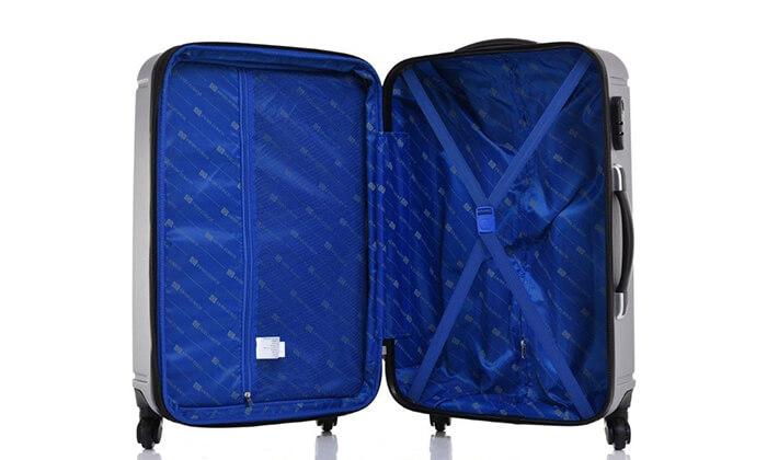 8 סט 3 מזוודות קשיחות SWISS ZURICH