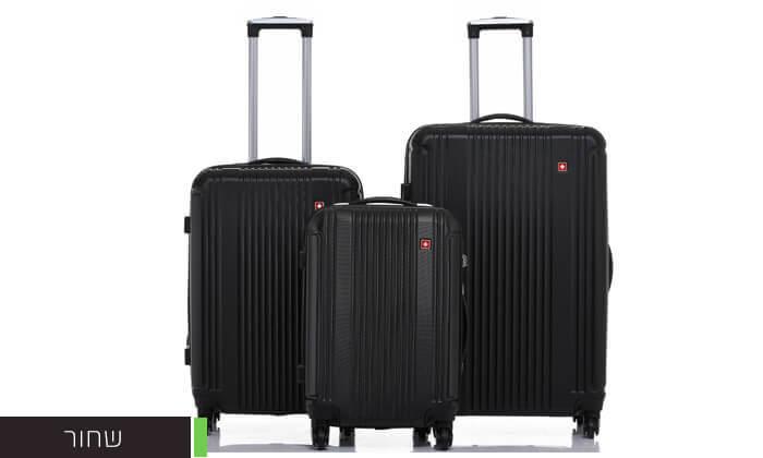 7 סט 3 מזוודות קשיחות SWISS ZURICH