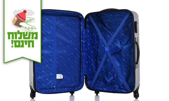 5 סט 3 מזוודות קשיחות SWISS ZURICH