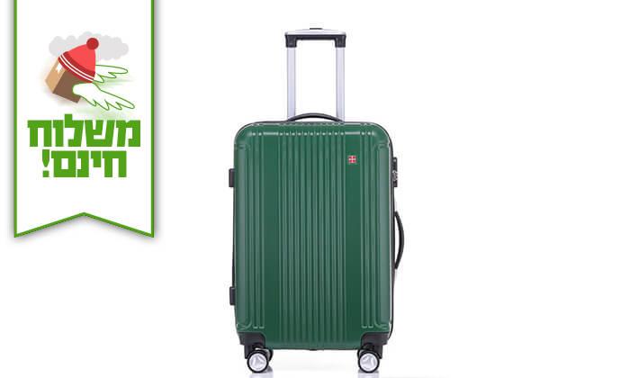10 סט 3 מזוודות קשיחות SWISS ZURICH