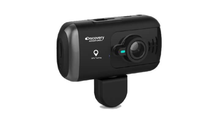 2 מצלמת דרך דו-כיוונית לרכב Discovery עם GPS מובנה