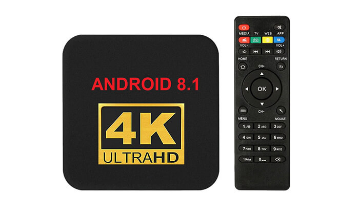 3 סטרימר ANDROID TV BOX 4K ULTRA