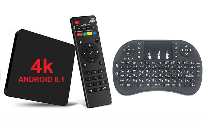 2 סטרימר ANDROID TV BOX 4K ULTRA