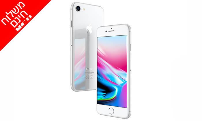 2 אייפון Apple iPhone 8 עם זכרון 64GB - משלוח חינם!
