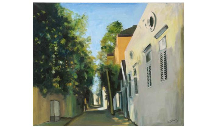 8 סדנת ציור בסטודיו של האמן מיגל תומר בתל אביב