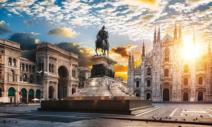 """3 חופשה במילאנו - העיר הכי אופנתית באירופה, כולל סופ""""ש"""