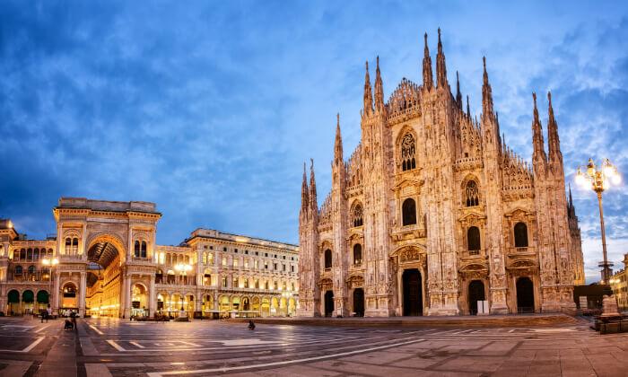 """11 חופשה במילאנו - העיר הכי אופנתית באירופה, כולל סופ""""ש"""