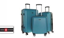 סט 3 מזוודות קשיחות