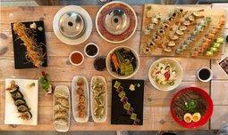 ארוחה זוגית ב-Umami, שוק הכרמל