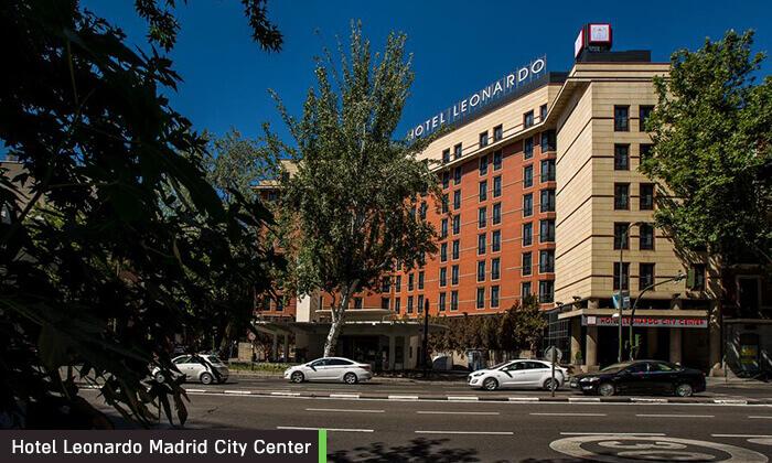 """6 חופשה במדריד, כולל סופ""""ש וחנוכה - מלון Leonardo המומלץ"""
