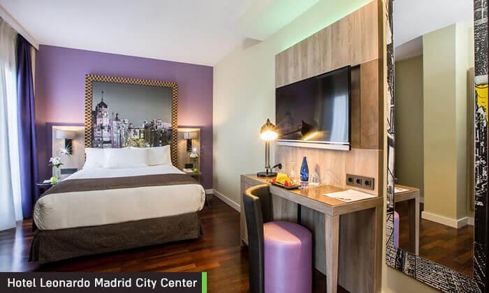 """7 חופשה במדריד, כולל סופ""""ש וחנוכה - מלון Leonardo המומלץ"""