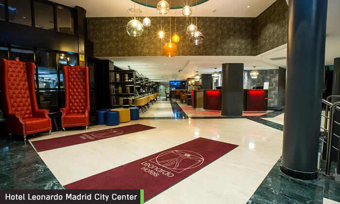 """8 חופשה במדריד, כולל סופ""""ש וחנוכה - מלון Leonardo המומלץ"""