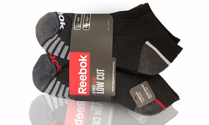 9 מארז 18 זוגות גרביים ריבוק REEBOK