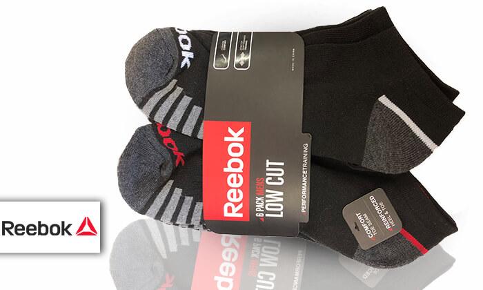 2 מארז 18 זוגות גרביים ריבוק REEBOK