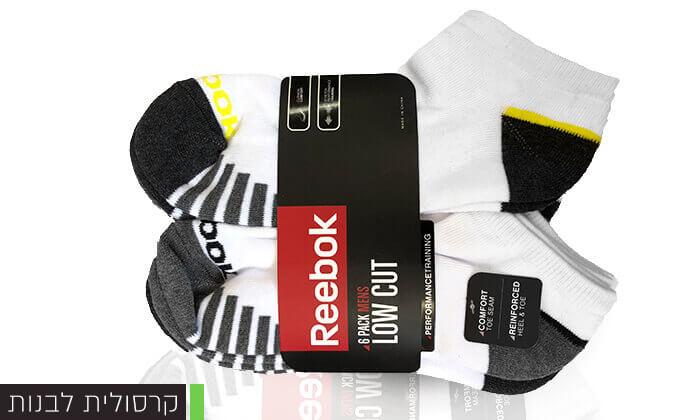 6 מארז 18 זוגות גרביים ריבוק REEBOK