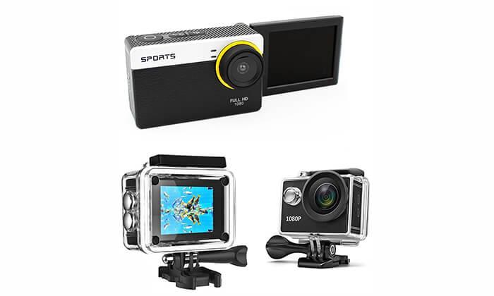 2 מצלמת וידאו אקסטרים ברזולוציית Full HD 1080